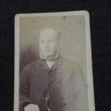 Fotografía antigua: FOTOGRAFÍA ANTIGUA CDV FINALES DE 1800. Lote 210701245