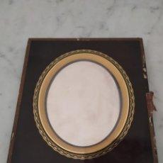 Fotografía antigua: ANTIGUO DAGUERROTIPO CON MARCO DE CRISTAL Y CON FOTO EN PLACA DE PLATA SIGLO XIX. Lote 212309697
