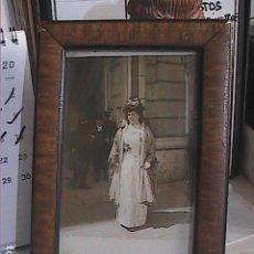 Fotografía antigua: FOTOGRAFIA DE LA REINA VICTORIA EUGENIA DE BATTENBERG. 1910. ESPOSA DE ALFONSO XIII.. Lote 215084430