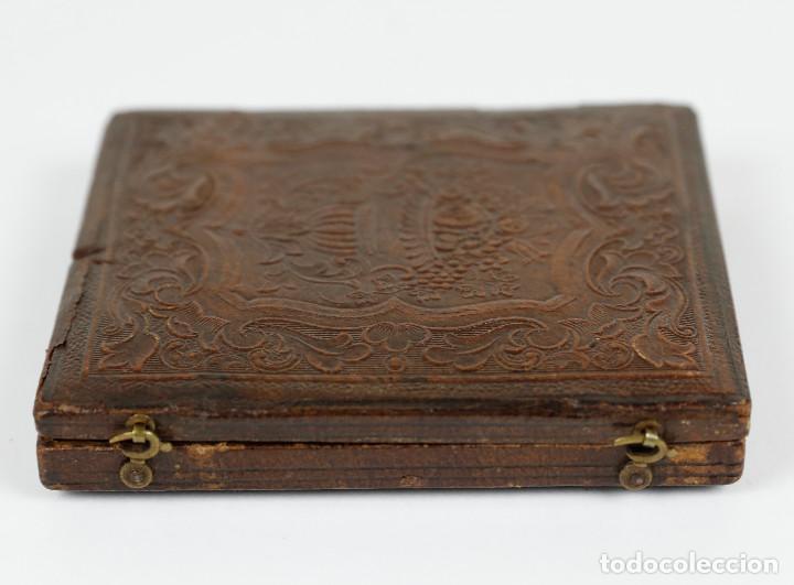 Fotografía antigua: DAGUERREOTIPO DE JOVEN, ca.1850. Estuche: 8,3x9,5 cm. - Foto 5 - 217924106