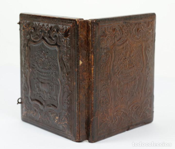 Fotografía antigua: DAGUERREOTIPO DE JOVEN, ca.1850. Estuche: 8,3x9,5 cm. - Foto 7 - 217924106
