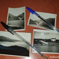 Fotografía antigua: VILLA DE CEE, BRENS, CORCUBION, SALTO PINDO, 4 FOTOGRAFIAS ANTIGUAS. Lote 218047821
