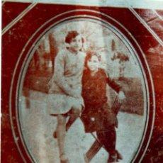 Fotografía antigua: FOTOGRAFÍA SOBRE PLACA METÁLICA, POSIBLEMENTE DE ZINC. AÑOS 30. DIMENSIONES: 9 CM. X 10 CM.. Lote 219114885