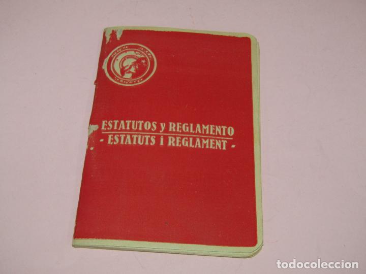 Fotografía antigua: Antiguo Librito ESTATUTOS y REGLAMENTO del Ateneo Popular Valenciano - Guerra Civil Año 1937 - Foto 3 - 221449171