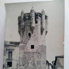 Fotografía antigua: FOTOGRAFÍA ANTIGUA DE SALAMANCA - TORRE DEL CLAVERO. Lote 222256976