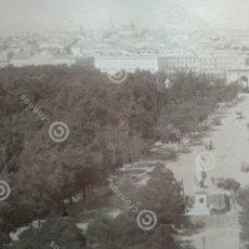 Fotografía antigua: ANTIGUA ALBÚMINA PANORÁMICA MADRID 1885 LEON & LEVY.. Lote 223891628