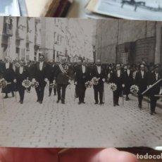 Fotografía antigua: PAMPLONA, PROCESION DEL CORPUS, 1920. FOTOGRAFIA ORIGINAL EN BUEN ESTADO.. Lote 240457830