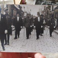 Fotografía antigua: PAMPLONA, PROCESIÓN DE SAN FERMÍN, 1918. FOTOGRAFÍA ORIGINAL EN BUEN ESTADO.. Lote 240464145