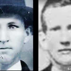 Fotografía antigua: TINTYPE JESSE JAMES Y FRANK JAMES 3 FERROTIPOS HERMANOS BANDOLEROS FORAJIDOS. Lote 243924295