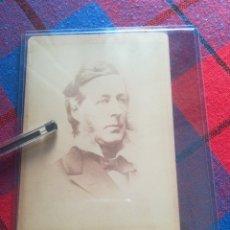 Fotografía antigua: HENRY WARD BEECHER DAGUERROTIPO FOTOGRAFÍA ANTIGUA. HENRY DAVID THOREAU 1800S. Lote 267883524