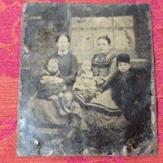 Fotografía antigua: ORIGINAL NO COPIA DAGUERROTIPO FERROTIPO FOTOGRAFÍA SOBRE COBRE S.XIX. Lote 272191653