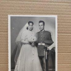 Fotografía antigua: FOTO ANTIGUA DE UN MILITAR 1958 ALHUCEMA. Lote 278204668