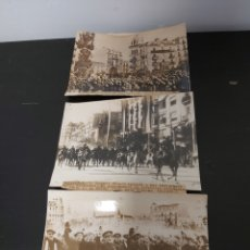 Fotografía antigua: ENTRADA BARCELONA DE LAS TROPAS DE FRANCO, REPORTAJE, GENERAL ALVAREZ ARENAS, FOTOS. Lote 278211478