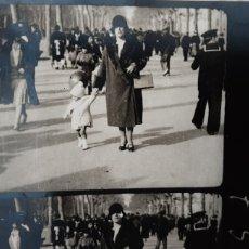 Fotografía antigua: FOTOPOSTAL AÑOS 20 LAS RAMBLAS DE BARCELONA. ANIMADA Y CINEMÁTICA. 1926. FOTO, POSTAL. ÚNICA. Lote 285278503