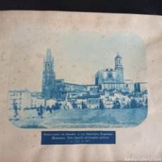 Fotografia antiga: ÁLBUM DE GERONA GIRONA 1876-8 FOTOGRAFÍAS VÍAS FERROVIARIAS CATALUÑA CATALUNYA. Lote 290530653