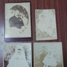 Fotografía antigua: FOTOGRAFÍA VERDADERA POS MORTEM - FIM SEC IXX. Lote 296584908
