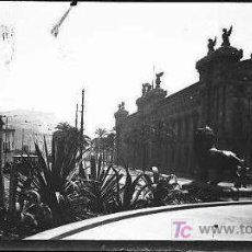 Fotografía antigua: COLON BARCELONA FOTO PANORAMICA. Lote 22982561