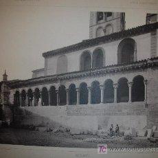 Fotografía antigua: SEGOVIA. SAN MARTIN. FOTOGRABADO. 1900.. Lote 7563840