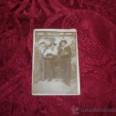 Fotografía antigua: FOTOGRAFIA PERSONAJES . Lote 7987149