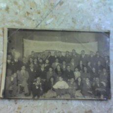 Fotografía antigua: FOTOGRAFIA 1934 REPUBLICA ANTIGUA DE ALICANTE ILUSTRES PERSONAJES. Lote 27565870