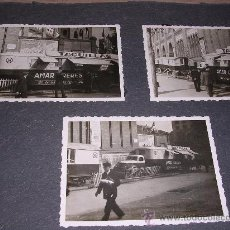 Fotografía antigua: FOTOGRAFIAS BARCELONA CIRCO-AMAR.PLAZA DE TOROS MONUMENTAL-11 FOTG.PEGADAS SOBRE CARTULINA.. Lote 8462263