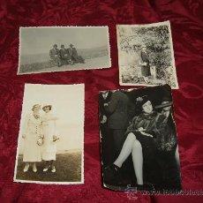 Fotografía antigua: LOTE 4 FOTOGRAFIAS 1930. Lote 9587609