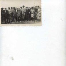 Fotografía antigua: TRAS LA CAZERIA - 13 X 8.50 - . Lote 11185568