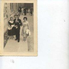 Fotografía antigua: SEÑORAS Y CABALLERO - 17.5 X 11.50 -. Lote 11193977