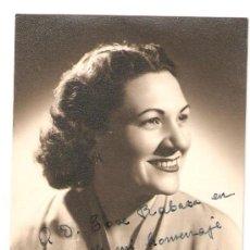 Fotografía antigua: FOTOGRAFIA DEDICADA . 1952. Lote 13791018