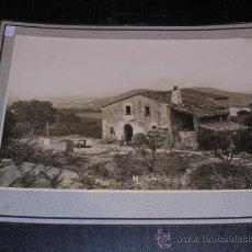 Fotografía antigua: MONTORNES 1913 MASIA,TAMPON ARXIU MAS,25X20 CM.. Lote 14184589