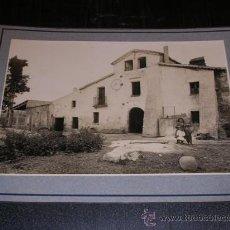 Fotografía antigua: MONTMELO,1913,MASIA,TAMPON ARXIU MAS 25X20 CM.VER FOTOS,. Lote 14185111