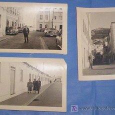 Fotografía antigua: LOTE 3 FOTOS ALGECIRAS Y GIBRALTAR 1953 TURISTAS ESPAÑOLES. Lote 25821568