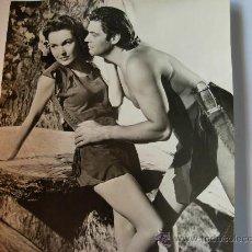 Fotografía antigua: FOTOGRAFIA DE ÉPOCA DE TARZAN Y JANE EN UNA ESCENA AÑO 1932. Lote 22679421