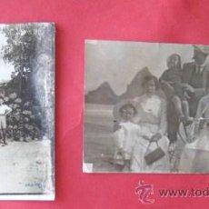 Fotografía antigua: DOS ANTIGUAS FOTOS FAMILIARES. ...ENVIO GRATIS¡¡¡. Lote 15165144