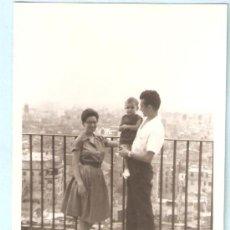 Fotografía antigua: VALENCIA DESDE EL MIGUELETE. 17 - 08 - 1963. Lote 16025728