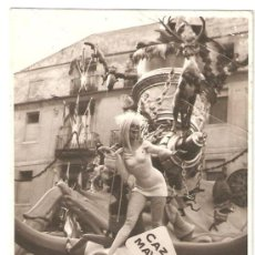 Fotografía antigua: VALENCIA. FALLA PLAZA DEL PILAR AÑO 1968. 11,5 X 8 CMS.. Lote 26568215