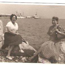 Fotografía antigua: PUERTO DE ALGECIRAS SEPTBRE 1953.. Lote 17567125