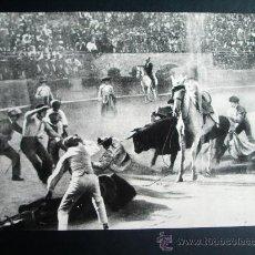 Fotografía antigua: 1918-CORRIDA TOROS CORPUS.TOLEDO.JUAN BELMONTE Y GAONA.MANUEL CERVERA.FOTO ORIGINAL.GRANDE 24X18 CM.. Lote 25837263