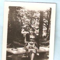 Fotografía antigua: FOTO DEDICADA. VALENCIA 1931. Lote 17650931
