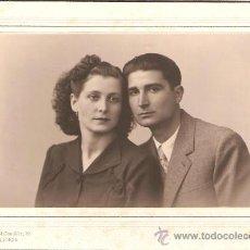 Fotografía antigua: PAREJA DE NOVIOS. FOTO BOLDUN. VALENCIA. Lote 18881436