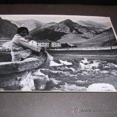 Fotografía antigua: FOTOGRAFIA SANTUARIO DE NURIA,AÑOS 30 -24X18 CM.. Lote 17781209