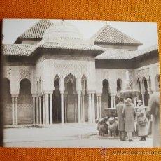 Fotografía antigua: 5-3-1927 - LA ALHAMBRA. GRANADA. FOTO ORIGINAL.. Lote 26691758