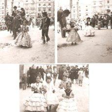 Fotografía antigua: ALCOY. MOROS I CRISTIANS.DESFILE DE NIÑAS. Lote 18151501
