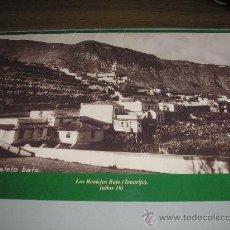 Fotografía antigua: LOS REALEJOS BAJO (TENERIFE) AÑO 1910 - MEDIDAS 33,50 X 23 CM.. Lote 27569355