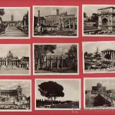 Fotografía antigua: FOTOS TAMAÑO CARTERA DE ROMA EDITOR FOTO SAM MILANOA 1.50 EUROS LA UD MAS FOTOS EN M ITIENDA. Lote 18463171