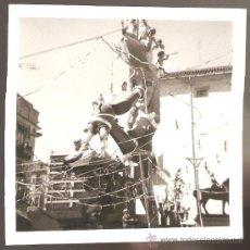 Fotografía antigua: VALENCIA. FALLA PLAZA DEL PILAR AÑO 1969. Lote 26568218