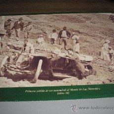 Fotografía antigua: PRIMERA SUBIDA DE UN AUTOMOVIL AL MONTE DE LAS MERCEDES (TENERIFE) AÑO 10. Lote 25698262