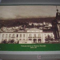 Fotografía antigua: VISTA PARCIAL DE LA OROTAVA (TENERIFE). AÑOS 30. 33,50 X 23 CM.. Lote 25698303