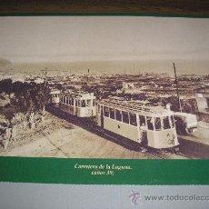 Fotografía antigua: CARRETERA DE LA LAGUNA. AÑOS 30. 33,50 X 23 CM.. Lote 26010928
