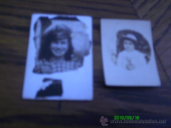 2 FOTOGRAFIAS ANTIGUAS.. (Fotografía - Artística)